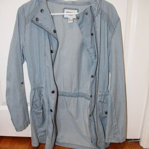 Forever 21 Denim Long Jacket